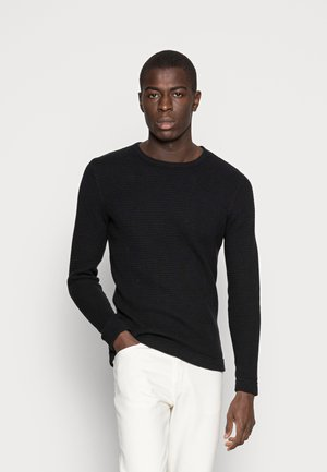 SLHVICTOR CREW NECK - Pullover - black