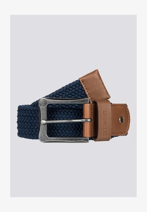 CALIBAN - Braided belt - eclipse navy