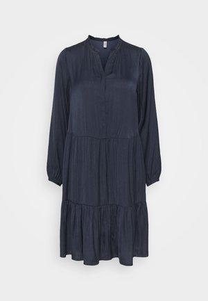 PAMELA - Shirt dress - navy