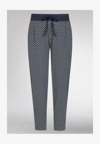 mey - SCHLAFHOSE SERIE NIGHT2DAY - Pyjama bottoms - night blue - 4