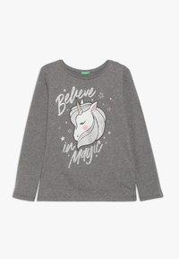 Benetton - LONG SLEEVES  - Langærmede T-shirts - grey - 0