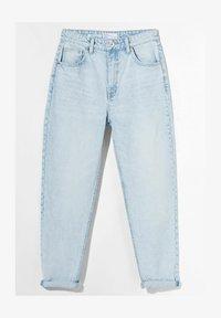 Bershka - MOM FIT JEANS - Jeans baggy - light blue - 5