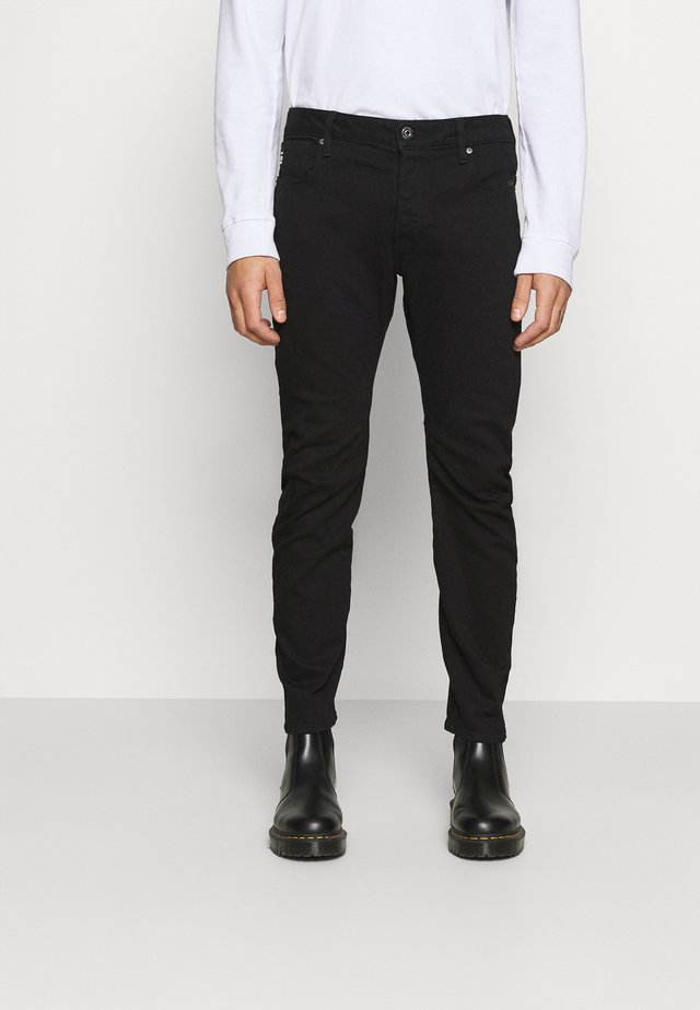 ARC SLIM - Slim fit jeans - nero black stretch denim - pitch black