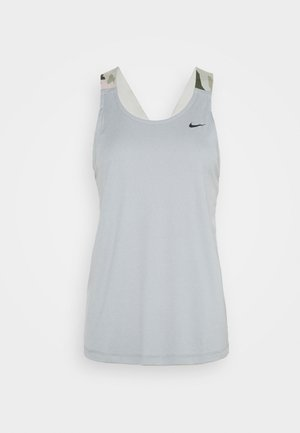 TANK - T-shirt sportiva - particle grey/black
