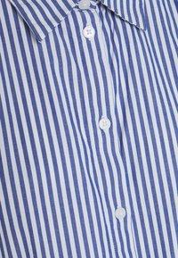 Monki - Button-down blouse - blue - 5
