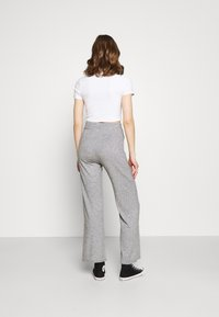 WAL G. - THIERRY LOUNGE TROUSERS - Bukse - grey marl - 2
