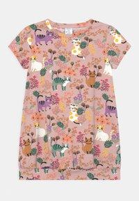 Lindex - MINI - Print T-shirt - dusty pink - 0