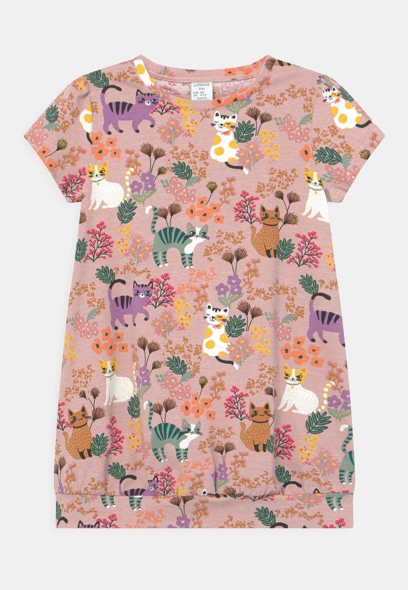 Lindex - MINI - Print T-shirt - dusty pink