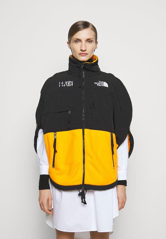 MM6 X THE NORTH FACE COAT - Fleece jacket - orange