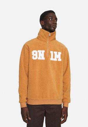HALF ZIP UP UNISEX - Fleece jumper - ochre