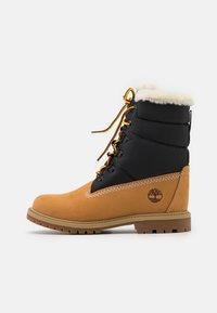 Timberland - 6 INCH HERIT PUFFER - Winter boots - wheat - 1