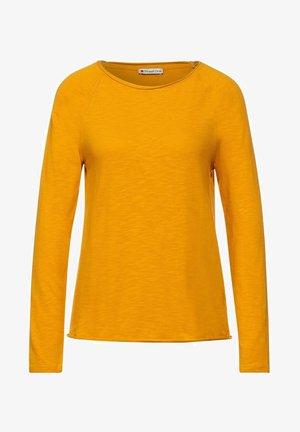 LÄSSIGEM LOOK - Long sleeved top - gelb