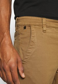 G-Star - SKINNY CHINO - Chinos - brown - 3