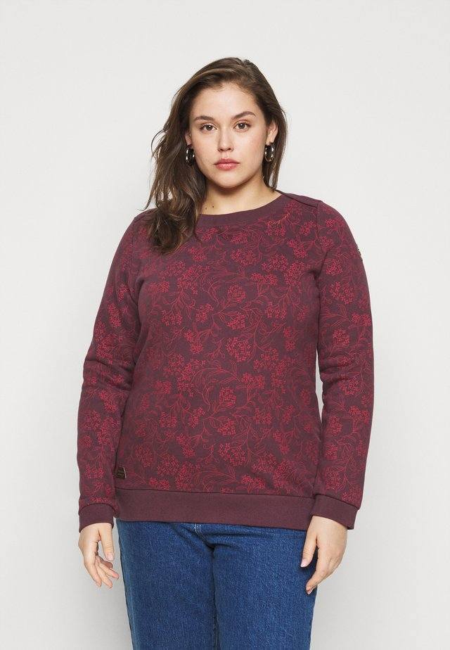 TASHI PLUS - Sweater - wine red
