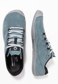 Merrell - VAPOR GLOVE LUNA - Minimalist running shoes - slate - 1