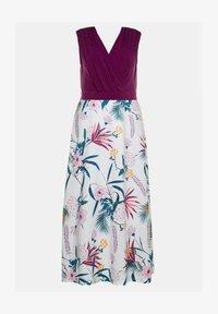 Ulla Popken - Maxi dress - magnolienrot - 1