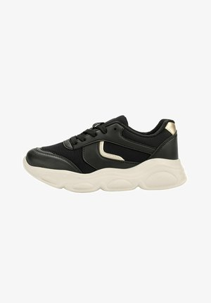 W 1PR - Sneakers laag - black