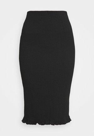 VIHAGEN MIDI SKIRT - Pencil skirt - black