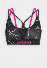 LOW SUPPORT BRA - Sports bra - black