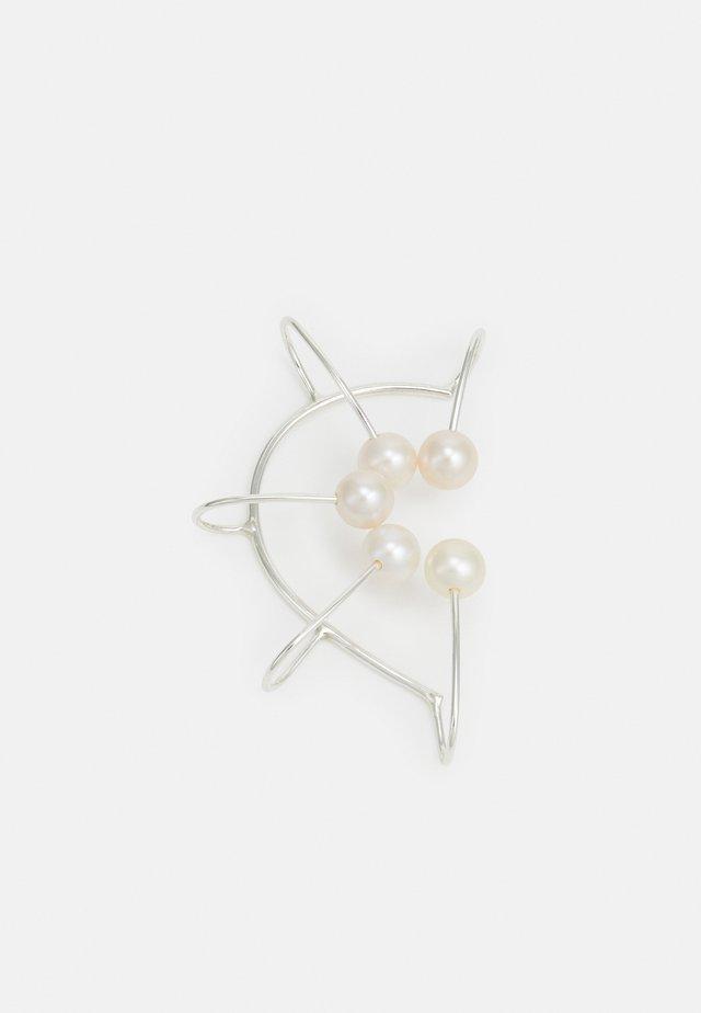 IRIS CONCHA EARCLIP - Boucles d'oreilles - silver