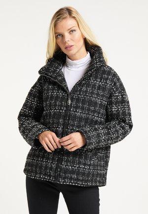 Light jacket - schwarz weiss