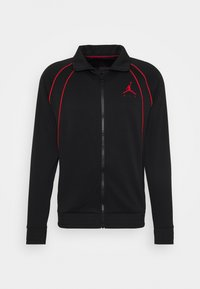 Jordan - JUMPMAN AIR SUIT - Kevyt takki - black/gym red - 5