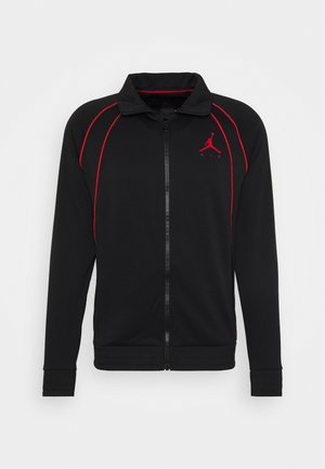JUMPMAN AIR SUIT - Kevyt takki - black/gym red