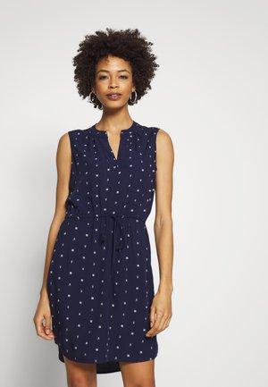 SHIRT DRESS - Day dress - navy