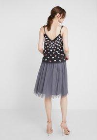 Needle & Thread - MIDI SKIRT - A-line skirt - vintage navy - 2