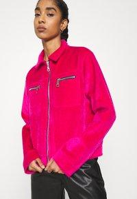 The Ragged Priest - TRICK JACKET - Summer jacket - pink - 3