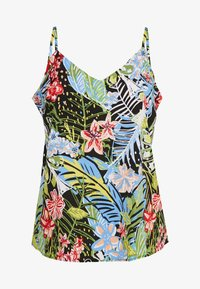 Simply Be - V NECK FACED CAMI - Blouse - multi - 0