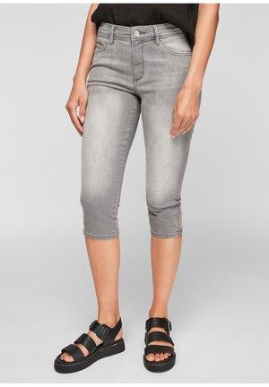 PANTALON - Denim shorts - light grey