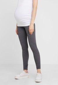 Zalando Essentials Maternity - 2 PACK - Legginsy - black/grey - 3