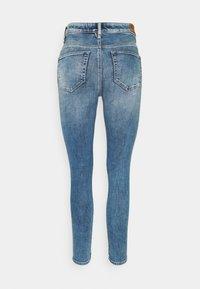 Diesel - SLANDY HIGH - Jeans Skinny Fit - light blue - 1