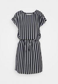 Vero Moda Tall - VMSASHA BALI SHORT DRESS - Day dress - navy blazer/coco - 0