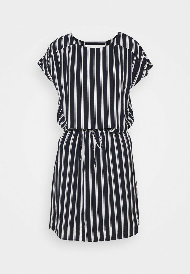 VMSASHA BALI SHORT DRESS - Day dress - navy blazer/coco