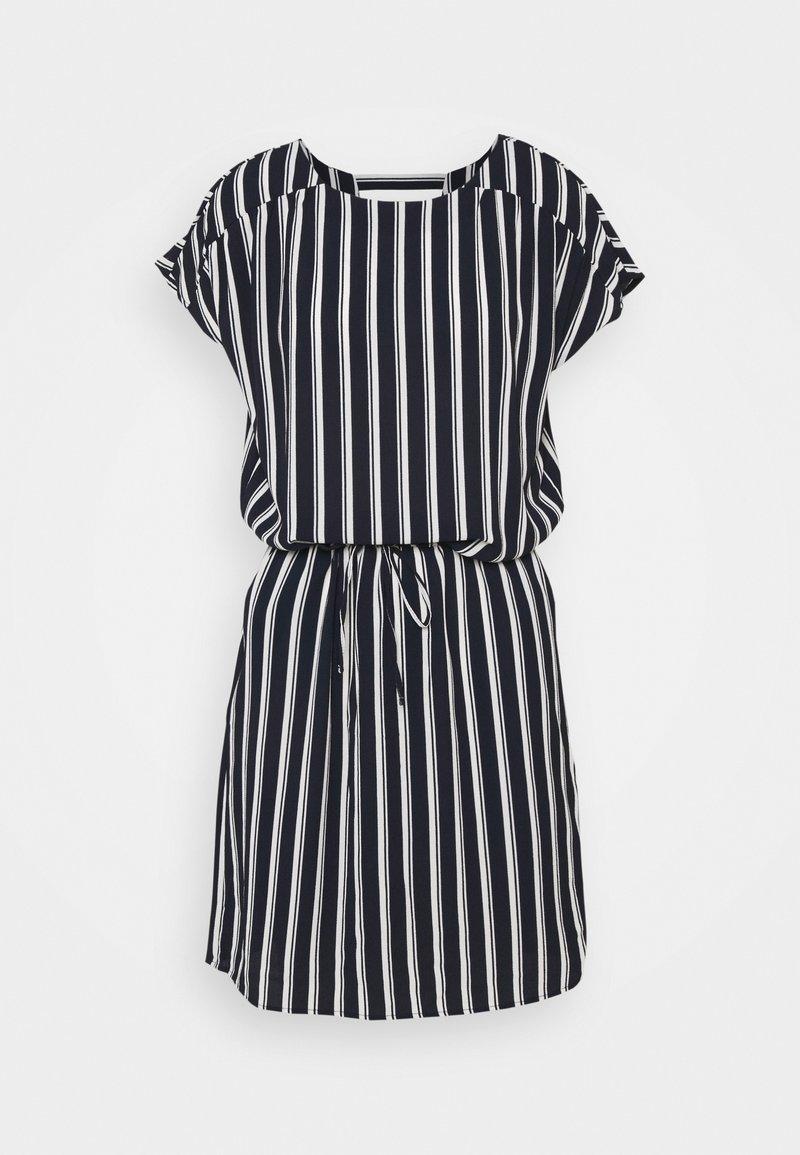 Vero Moda Tall - VMSASHA BALI SHORT DRESS - Day dress - navy blazer/coco