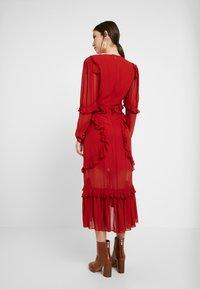 Thurley - PLUM DRESS - Suknia balowa - dried chilli - 3