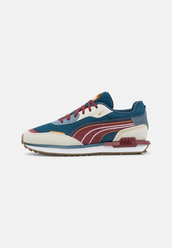 CITY RIDER UNISEX - Trainers - ivory glow/china blue/intense red