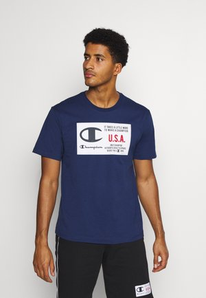 CREWNECK  - Print T-shirt - dark blue
