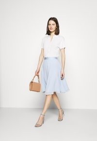 Esprit Collection - SKIRT - A-Linien-Rock - pastel blue - 1