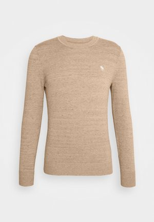 ICON CREW - Pullover - streaky tan