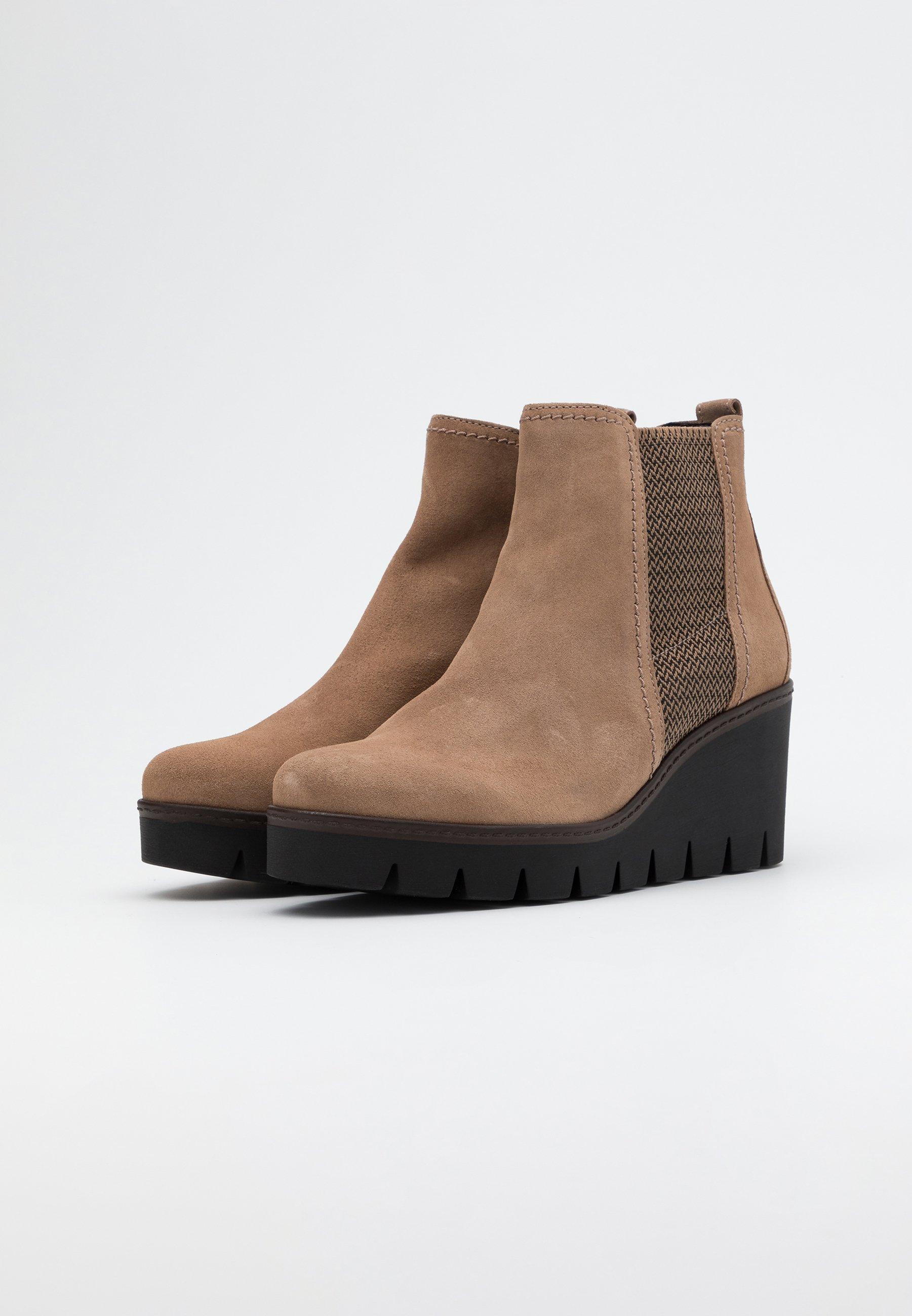 Gabor Ankle Boot desert cognac/beige
