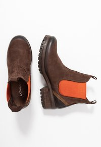 Lazamani - Ankle Boot - brown/orange - 3