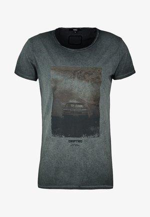 HIGHWAY DRIFT WREN - T-shirt imprimé - vintage black