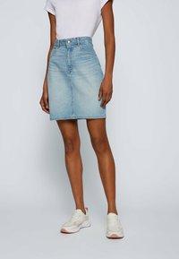 BOSS - Pencil skirt - turquoise - 0