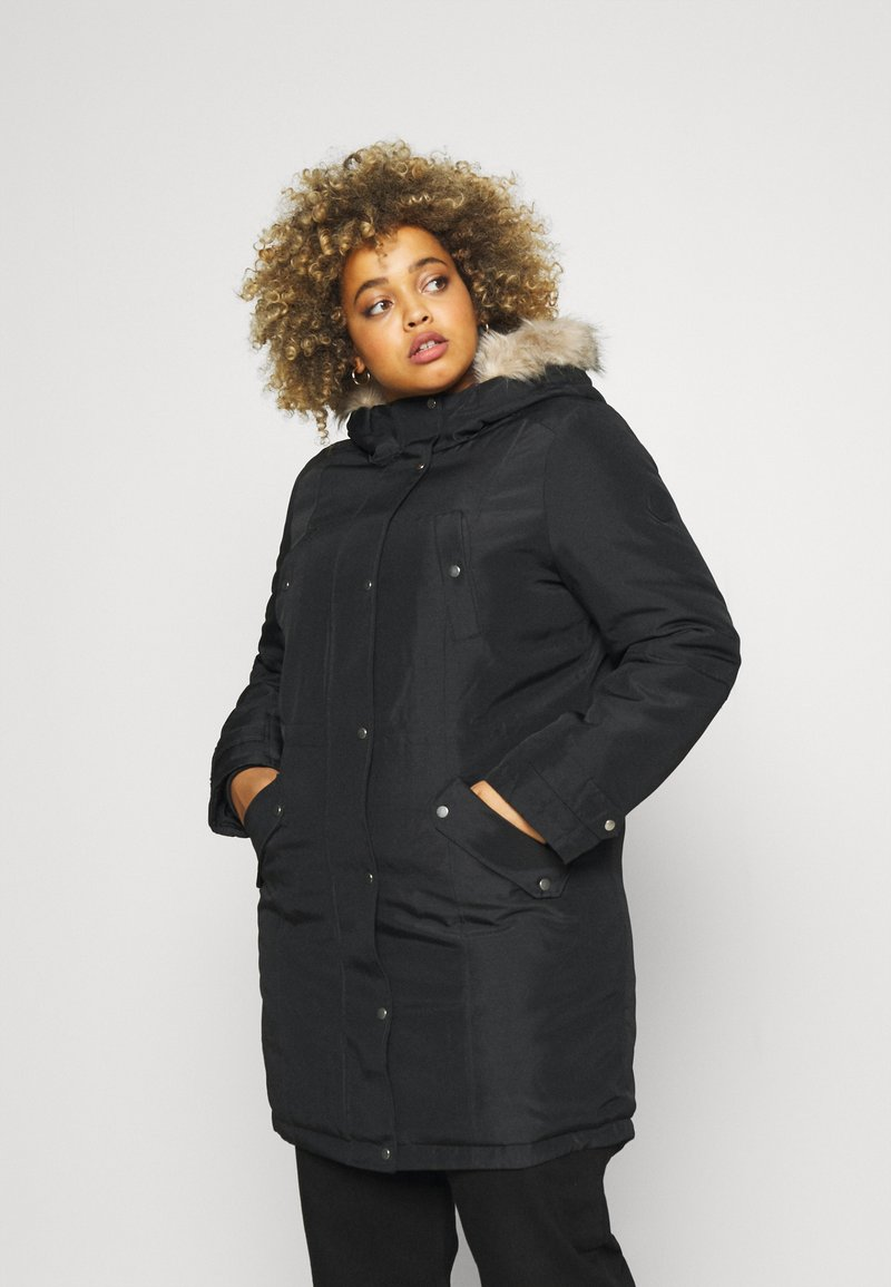 Vero Moda Curve - VMTROK - Winter jacket - black