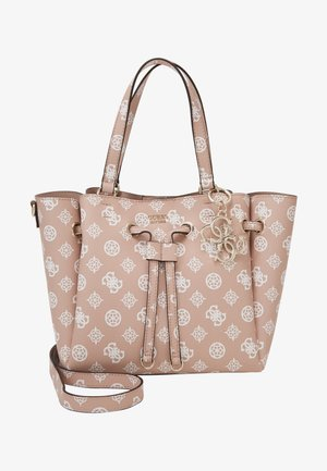 DIGITAL DRAWSTRING BAG - Handbag - rose