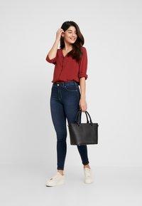 Dr.Denim Petite - PLENTY - Jeans Skinny Fit - pacific dark blue - 1