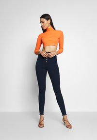 Missguided Tall - VICE BUTTON UP - Jeans Skinny - blue - 1
